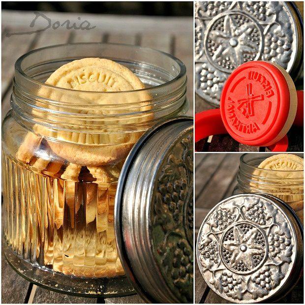 Biscuits artisanaux au zestes de citrons