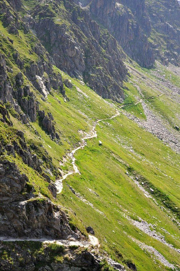 Chamonix 2015 (1)... 1ère Rando jusqu'au Refuge d'Albert 1er