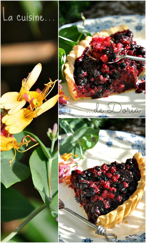 Tartes aux fruits rouges