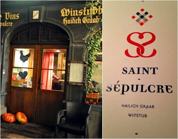 Strasbourg 2015 (4)... Restaurant Saint Sépulcre, bienvenue chez un Maître Restaurateur