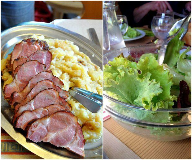 Repas Marcaire à la Ferme Auberge Glasborn-Linge dans les Vosges