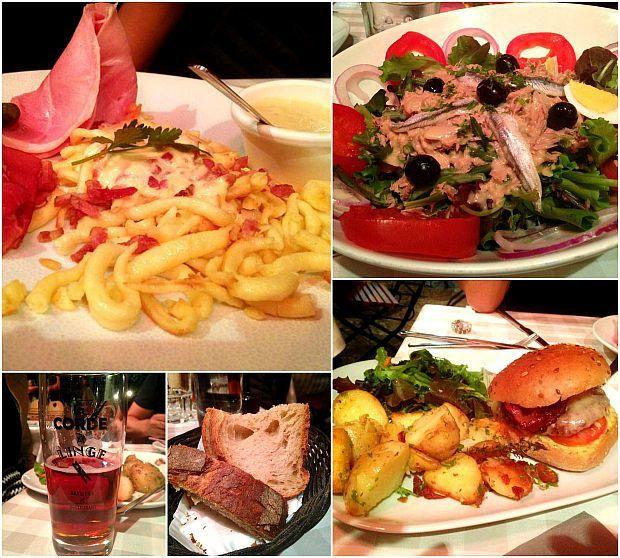 Strasbourg 2015 (11)... Restaurant &quot&#x3B;La Corde à Linge&quot&#x3B;
