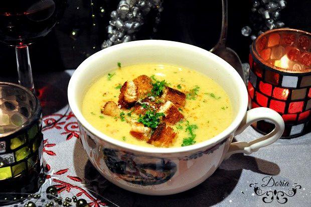Soupe de légumes aux fromages