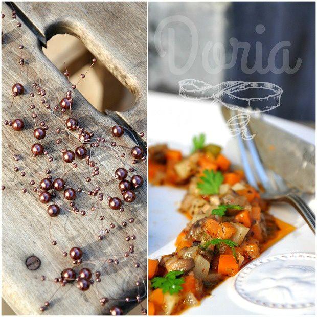 Magrets de canard au piment d'Espelette et mirepoix de légumes