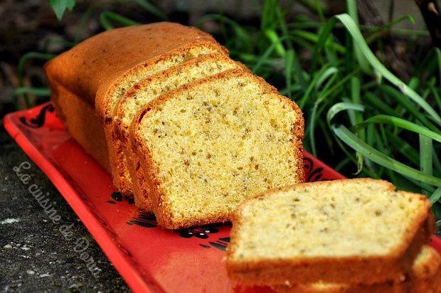Cake aux graines d'anis