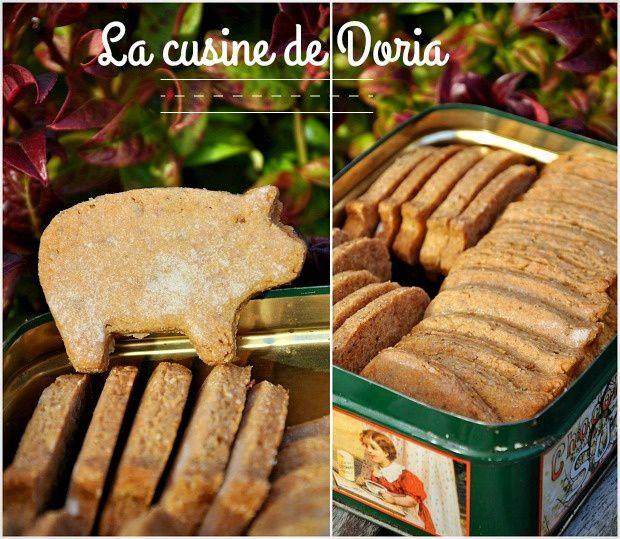 Biscuits aux épices et graines d'anis