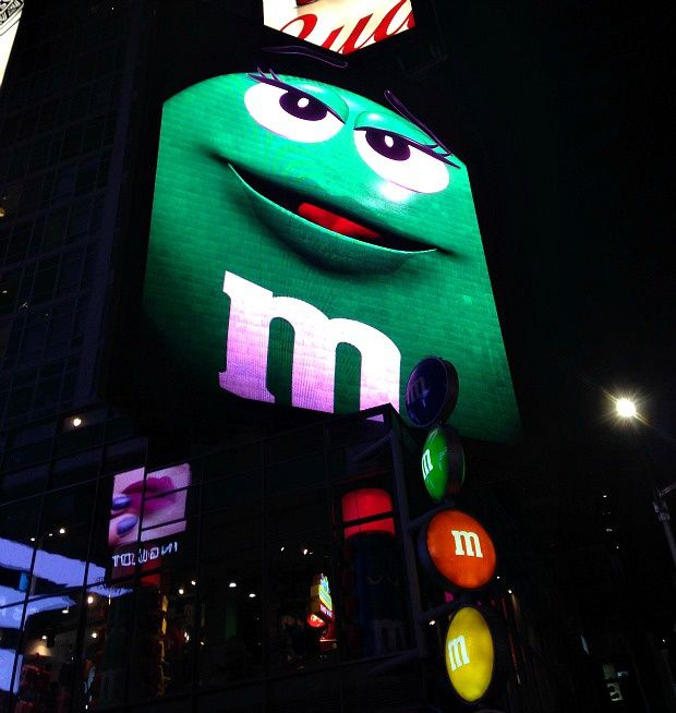 New-York (5)... M&amp&#x3B;M's Store sur Times Square