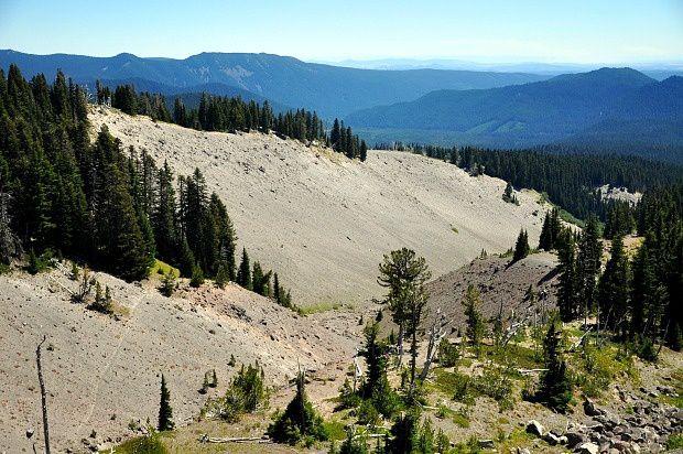 Doria aux Etats Unis dans l'Oregon (2016 - 1)... Mount Hood