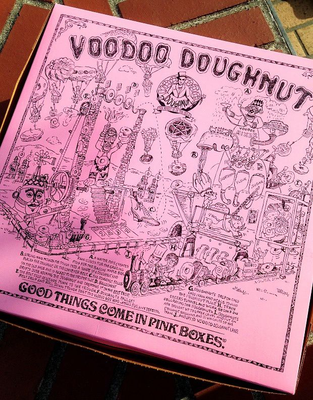 Doria aux Etats Unis dans l'Oregon (2016 - 5)... Voodoo Doughnut