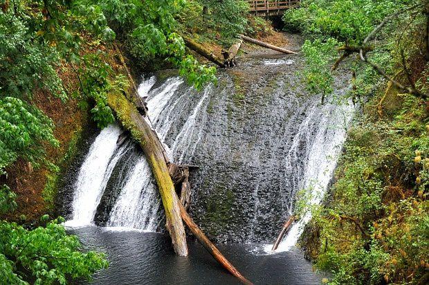 Doria aux Etats Unis dans l'Oregon (2016 - 11)... South Falls Historic District