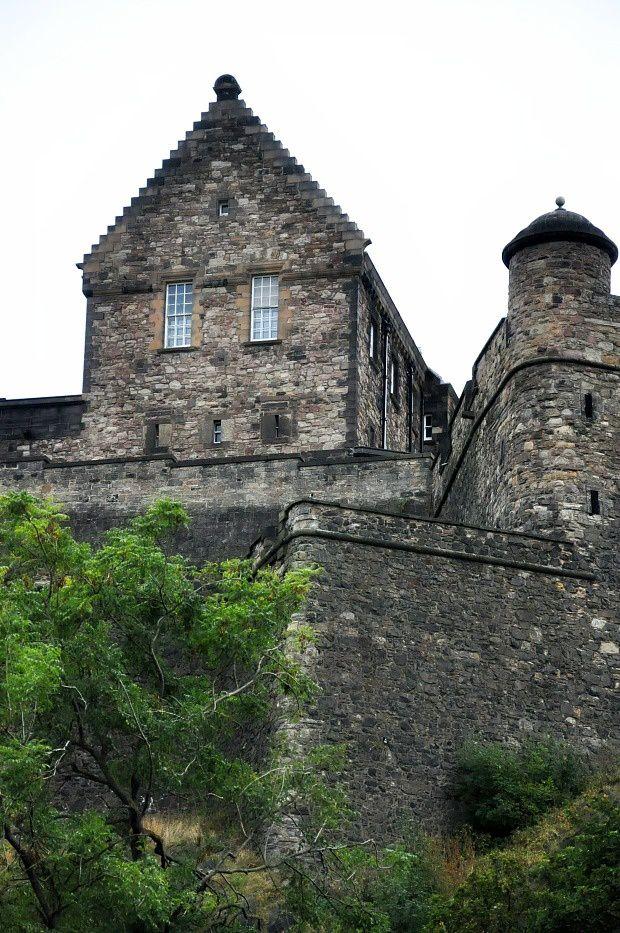 Doria en Ecosse (1)... Le Château d'Edimbourg