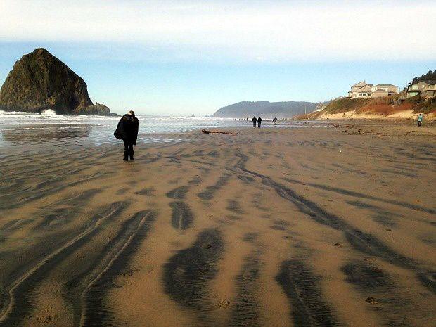 Doria aux Etats-Unis dans l'Oregon (2017 - 3)... Cannon Beach