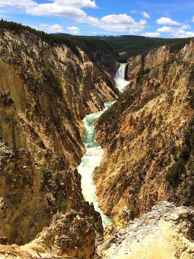 Les voyages d'Alexie : Parc National de Yellowstone