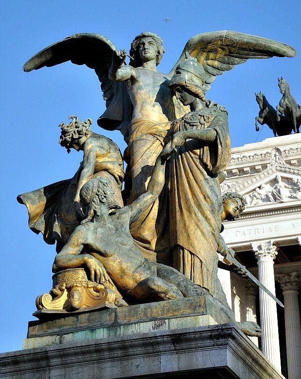 Quelques jours sur Rome (1)... La piazza Venezia et le monument à Victor Emmanuel II