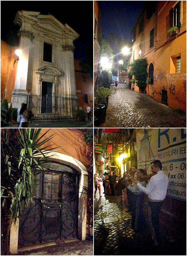 Quelques jours sur Rome (12)... Quartier de la Trastevere