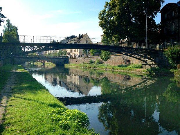Quelques jours sur Strasbourg (3)... Mon parcours de Running