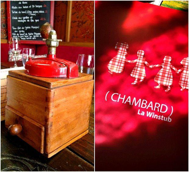 Quelques jours sur Strasbourg (6)... Restaurant &quot&#x3B;Winstub du Chambard&quot&#x3B; à KAYSERSBERG