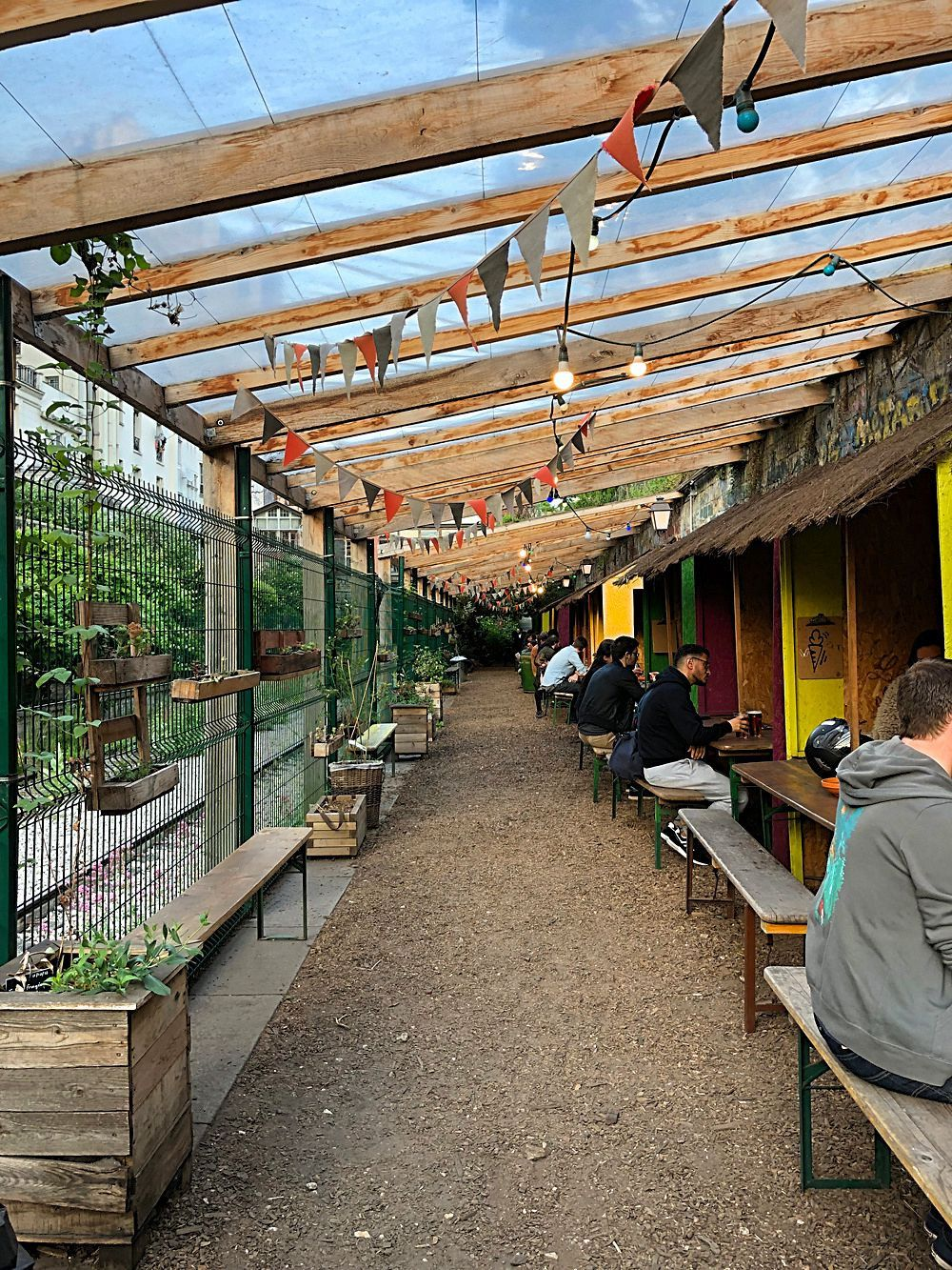Week-End parisien dans le 18ème arrondissement (4) La Recyclerie