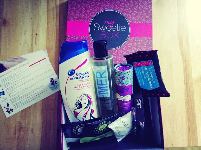 My sweetie box Mirror of Beauty - Présentation &amp&#x3B; TOP 3