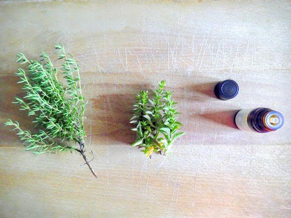 Eau de rinçage botanique capillaire - Thym, Romain &amp&#x3B; Lavande