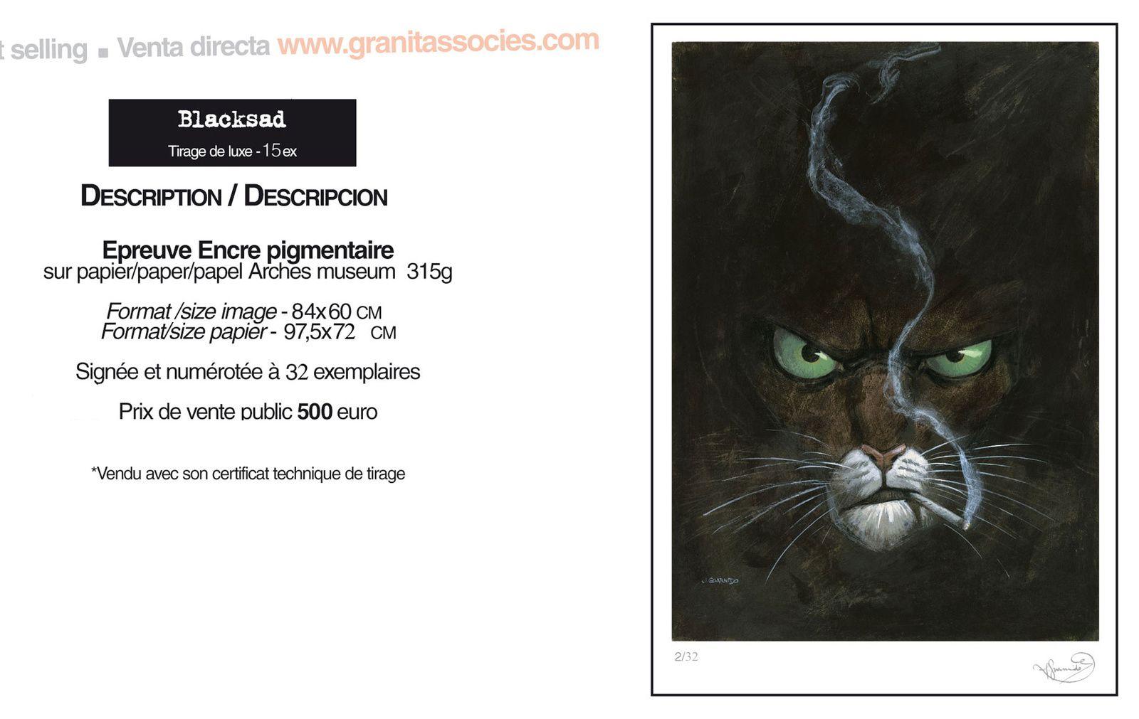 Blacksad - Deluxe Edition @ Granit Associés