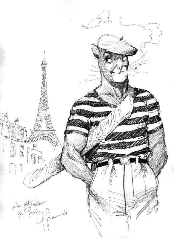John Blacksad Made in Paris @ Juanjo Guarnido & Juan Diaz Canales