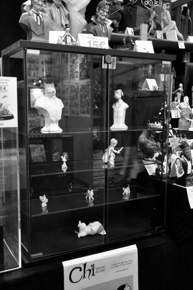 """Quelques prototypes d'Attakus, exposés en avant première sur notre stand """"Angouléme 2015"""", dont les sorties sont prévues pour cette année principalement."""