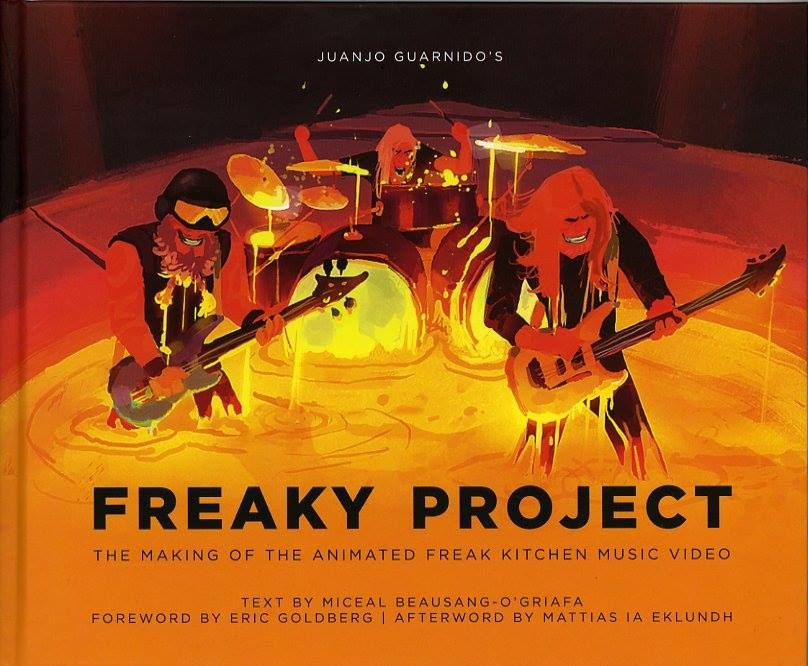 Avec la coopération de son groupe préféré, Freak Kitchen, Juanjo animé leur chanson récente, Freak (Check it out sur YouTube!) En collaboration avec la vidéo, Juanjo avec Big Wow! Art a publié un 176 Page hardcover artbook, Freaky projet de Juanjo Guarnido