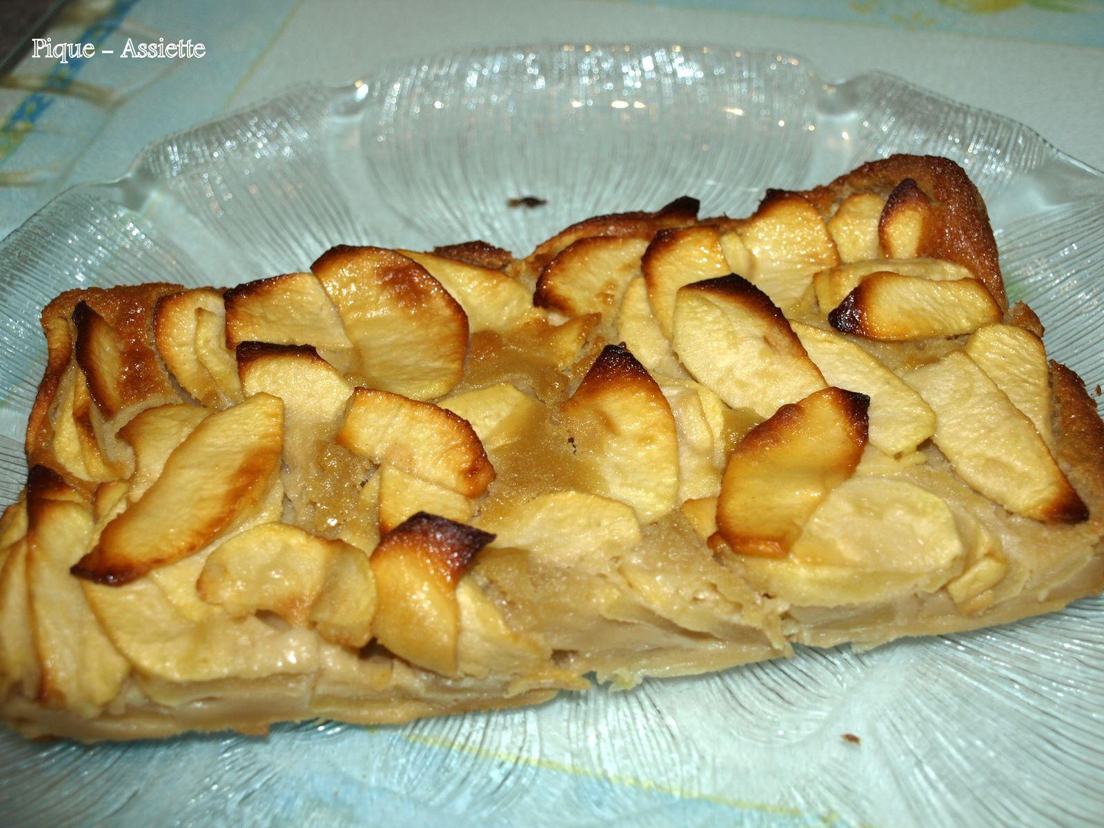 Gâteau invisible aux pommes. (Recettes légères)