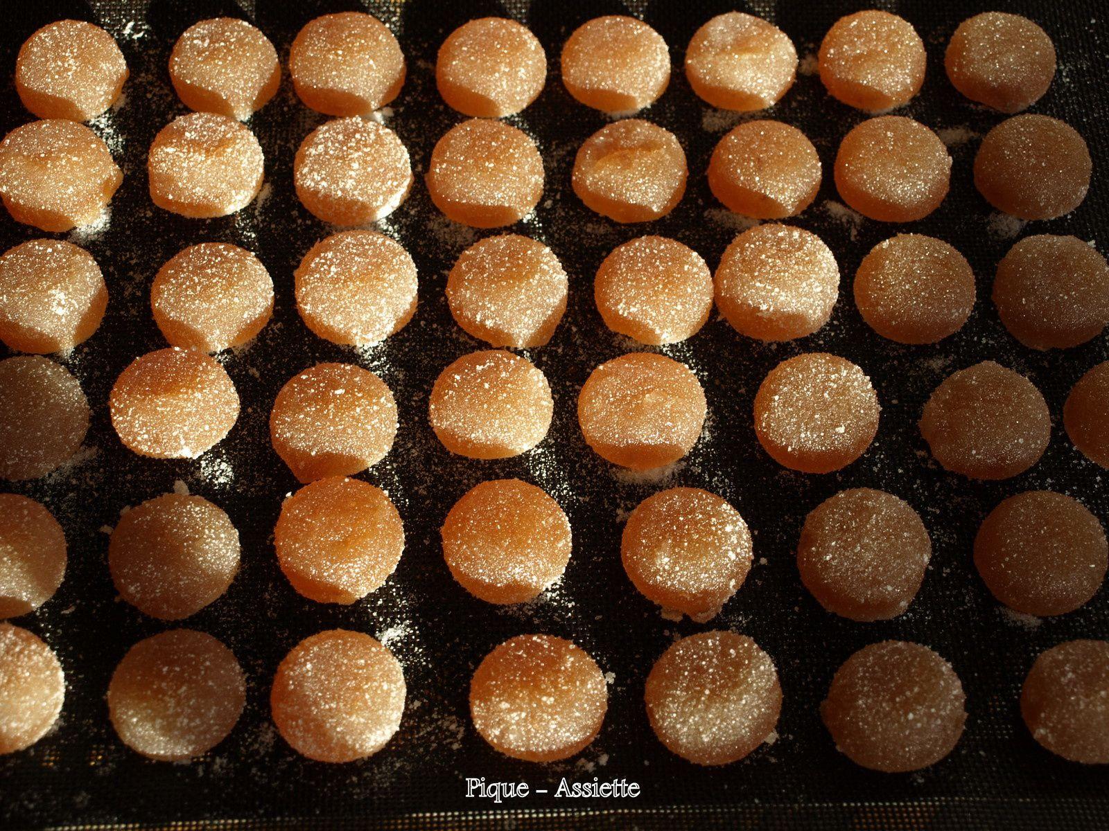 Pâtes de fruits aux pommes (Recettes au Companion ou pas).