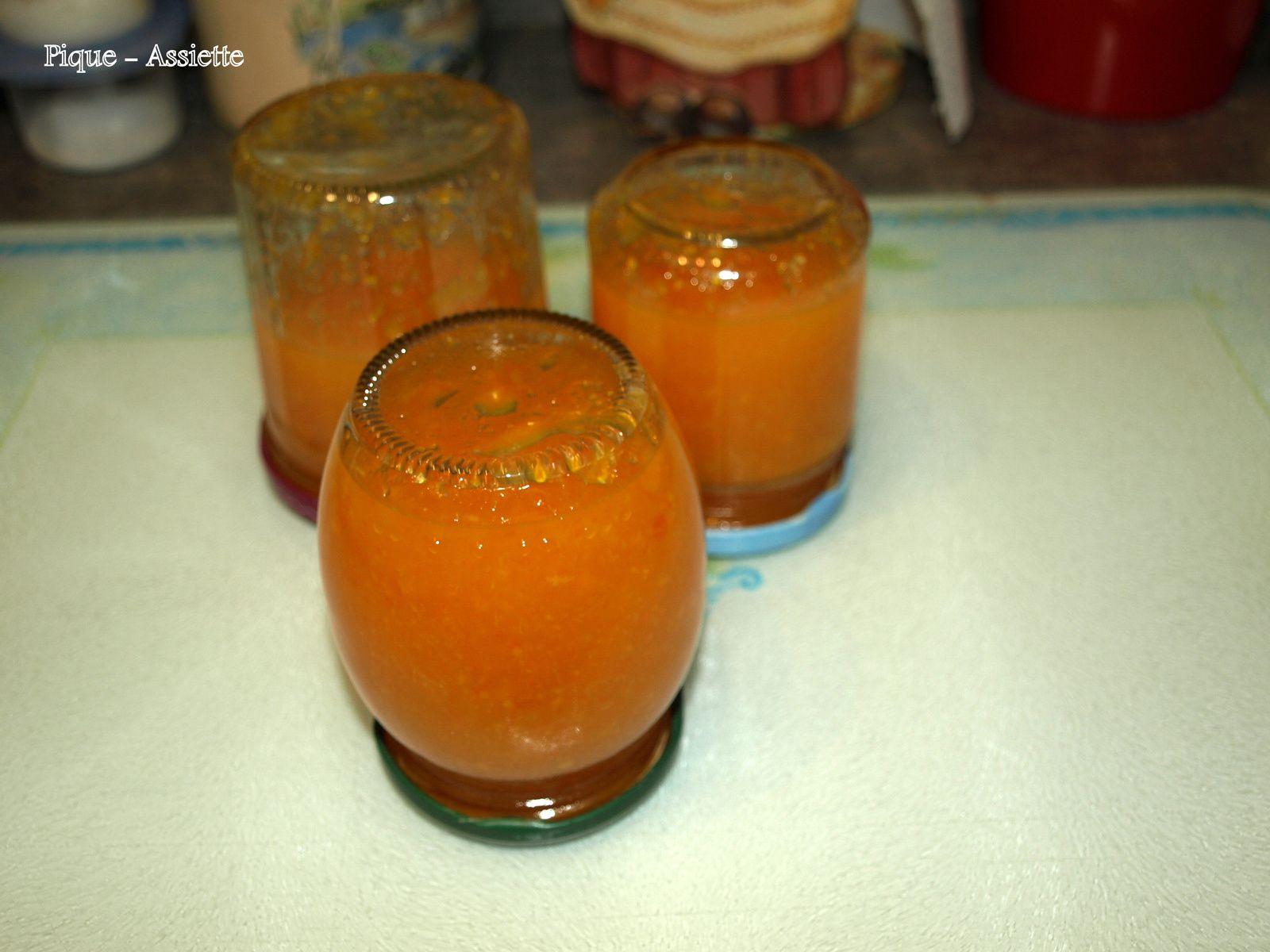 Marmelade d'orange (Recettes au Companion ou pas)