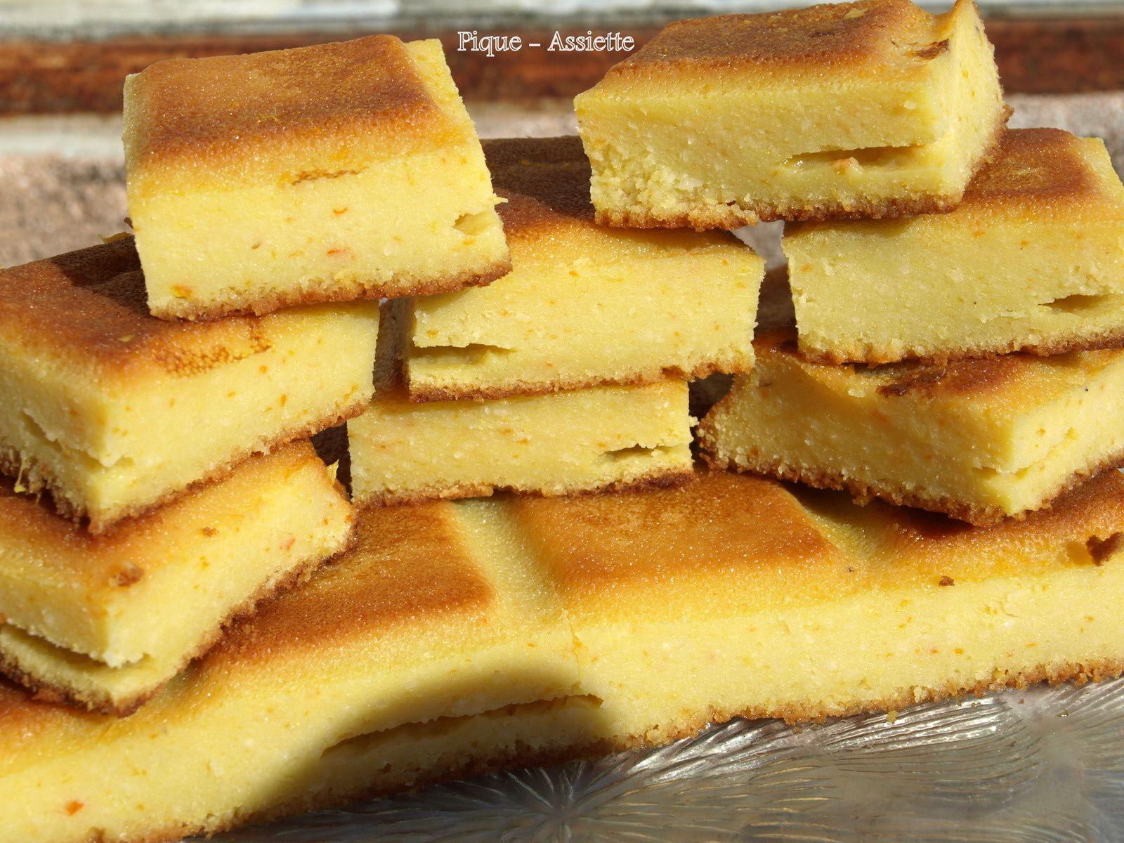 Gâteau Impérial aux agrumes. (Recettes au Companion ou pas ... )