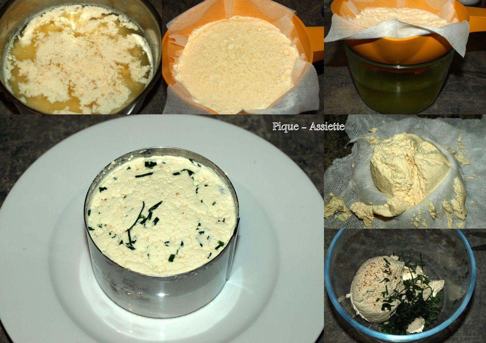 recette fromage de vache maison simple recette fromage de. Black Bedroom Furniture Sets. Home Design Ideas