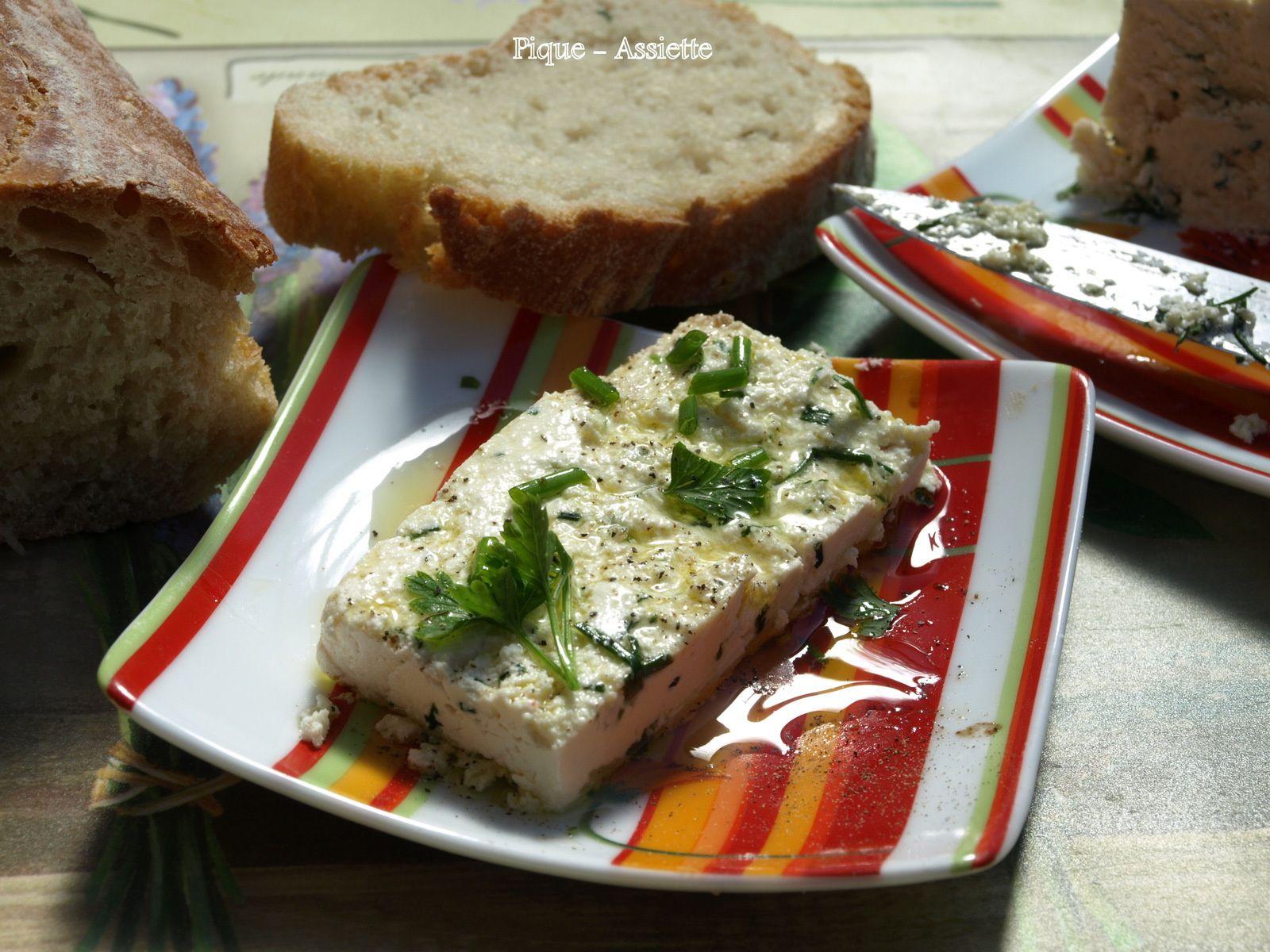 Fromage frais maison à tartiner façon Julie Andrieu.