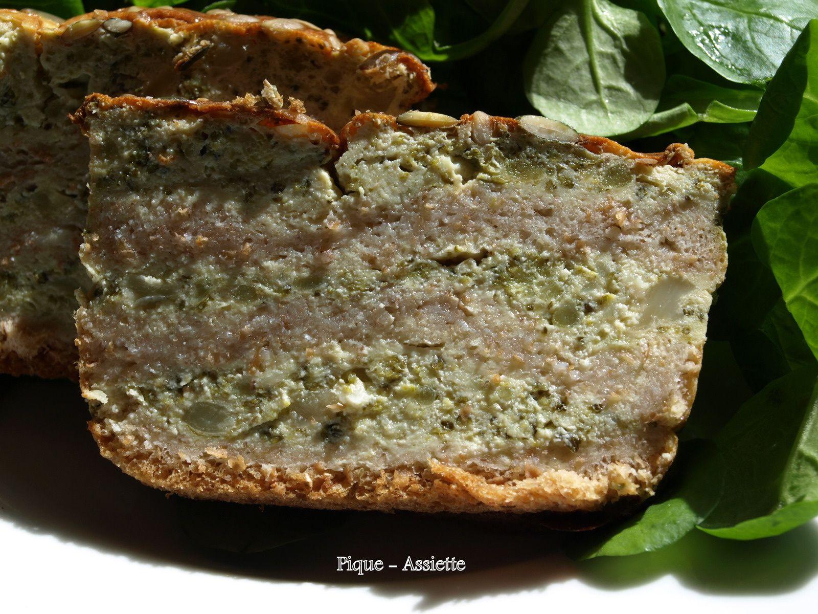 Croc Cake aux brocolis
