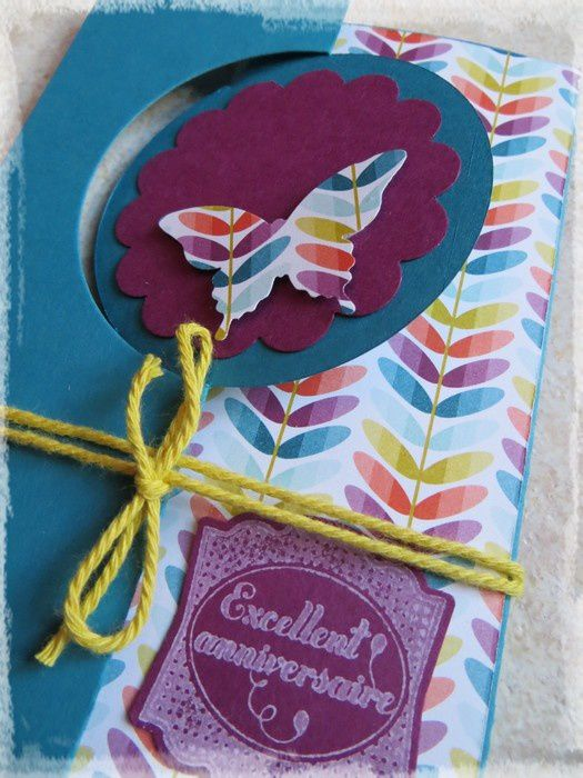 Atelier Stampin'up chez Mary