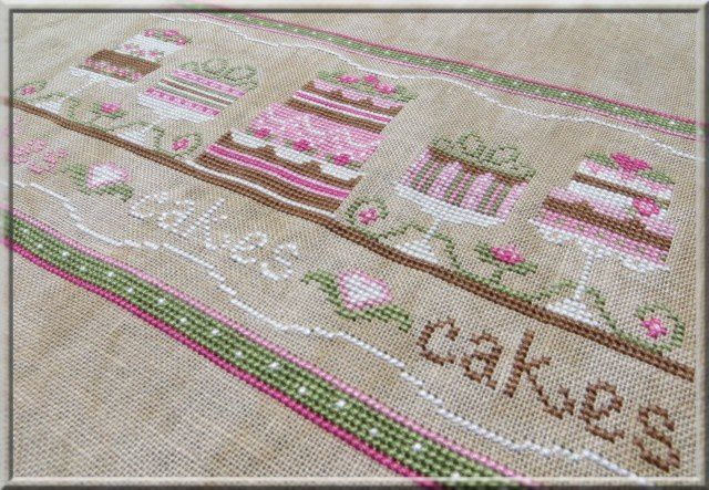 Party cakes - Country Cottage Needleworks
