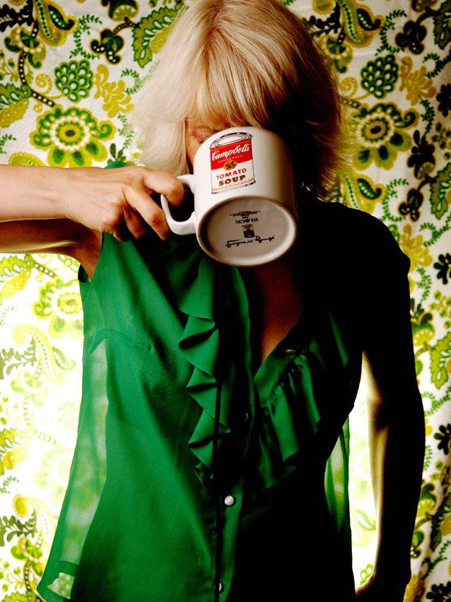 Puh, das ganze Rumgeblitze macht durstig. Jetzt erst mal ein Schlückchen Tee.