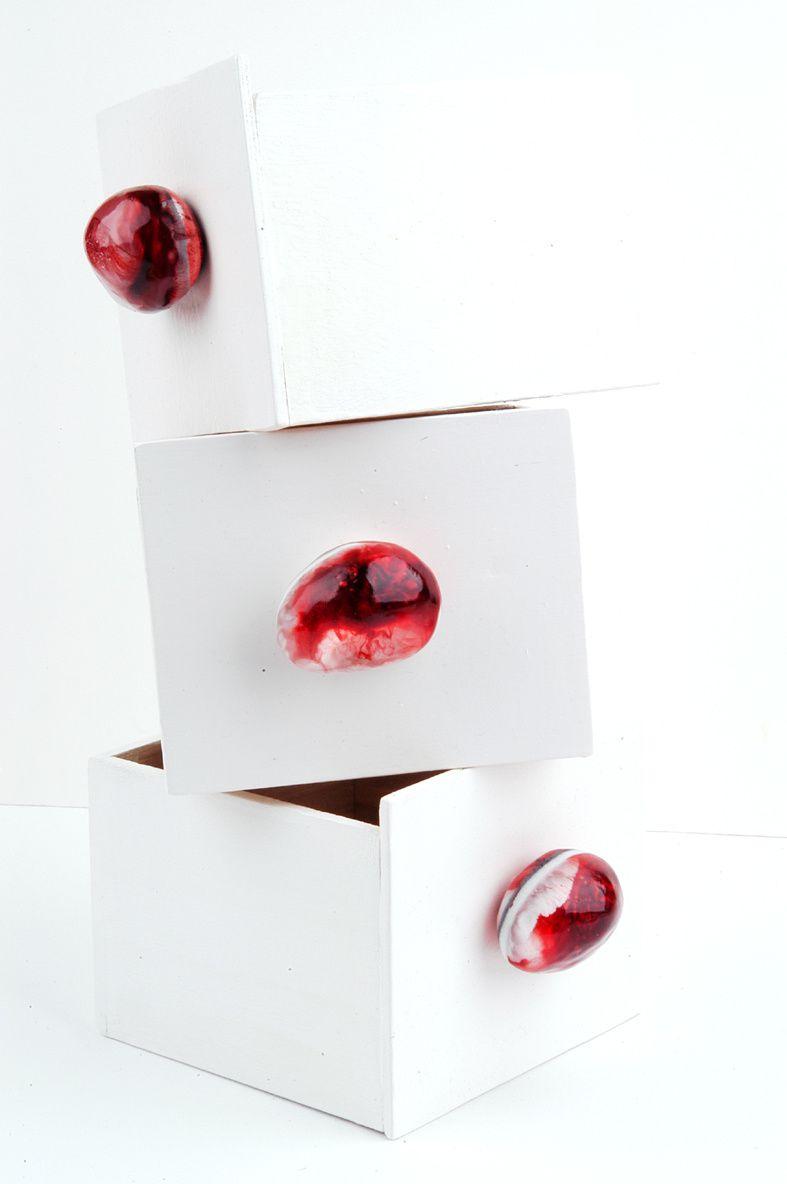 Eye Candy: Möbelknöpfe aus Kunstharz
