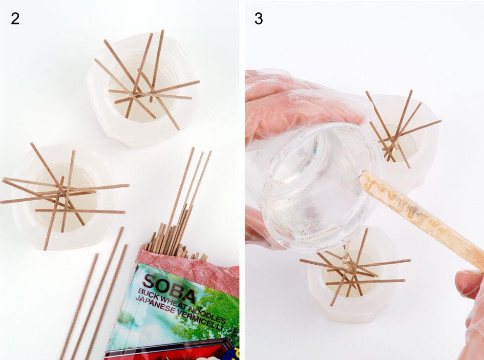 DIY - Möbelknöpfe aus Kunstharz mit Einbettung