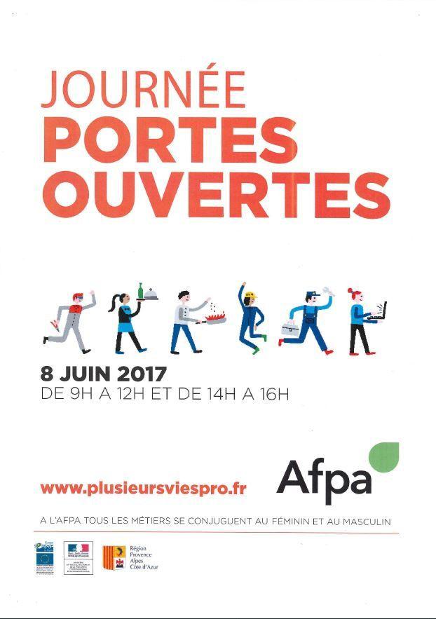 Journée Portes Ouvertes AFPA - 08 juin 2017