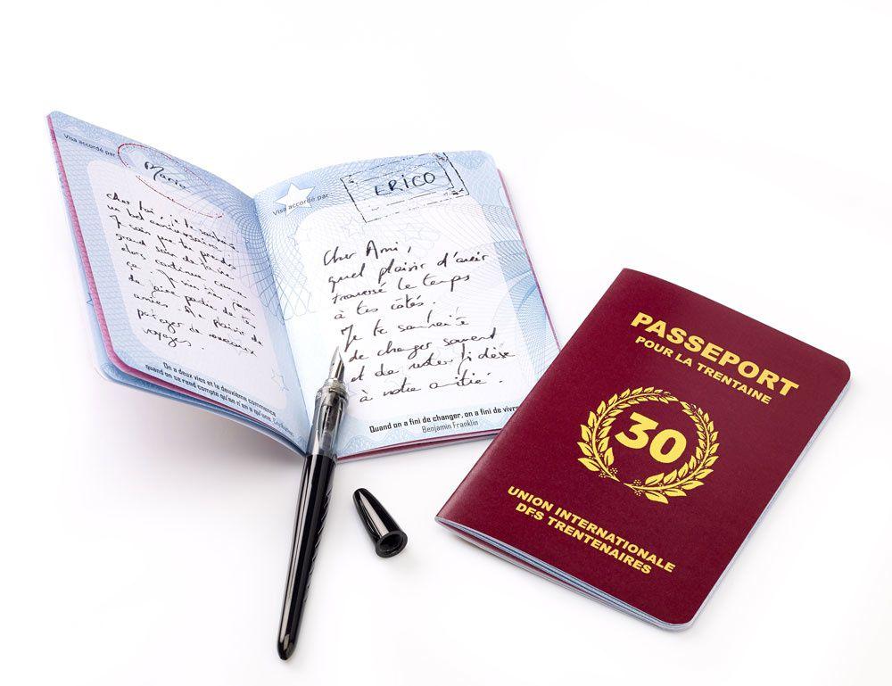 Passeport 30 ans