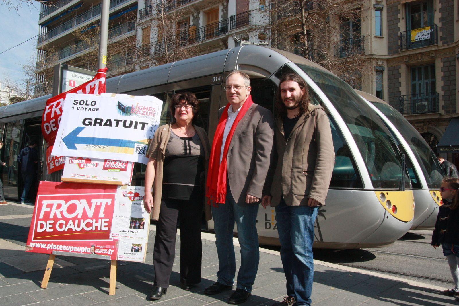 Nice: Osons la gratuité des transports!
