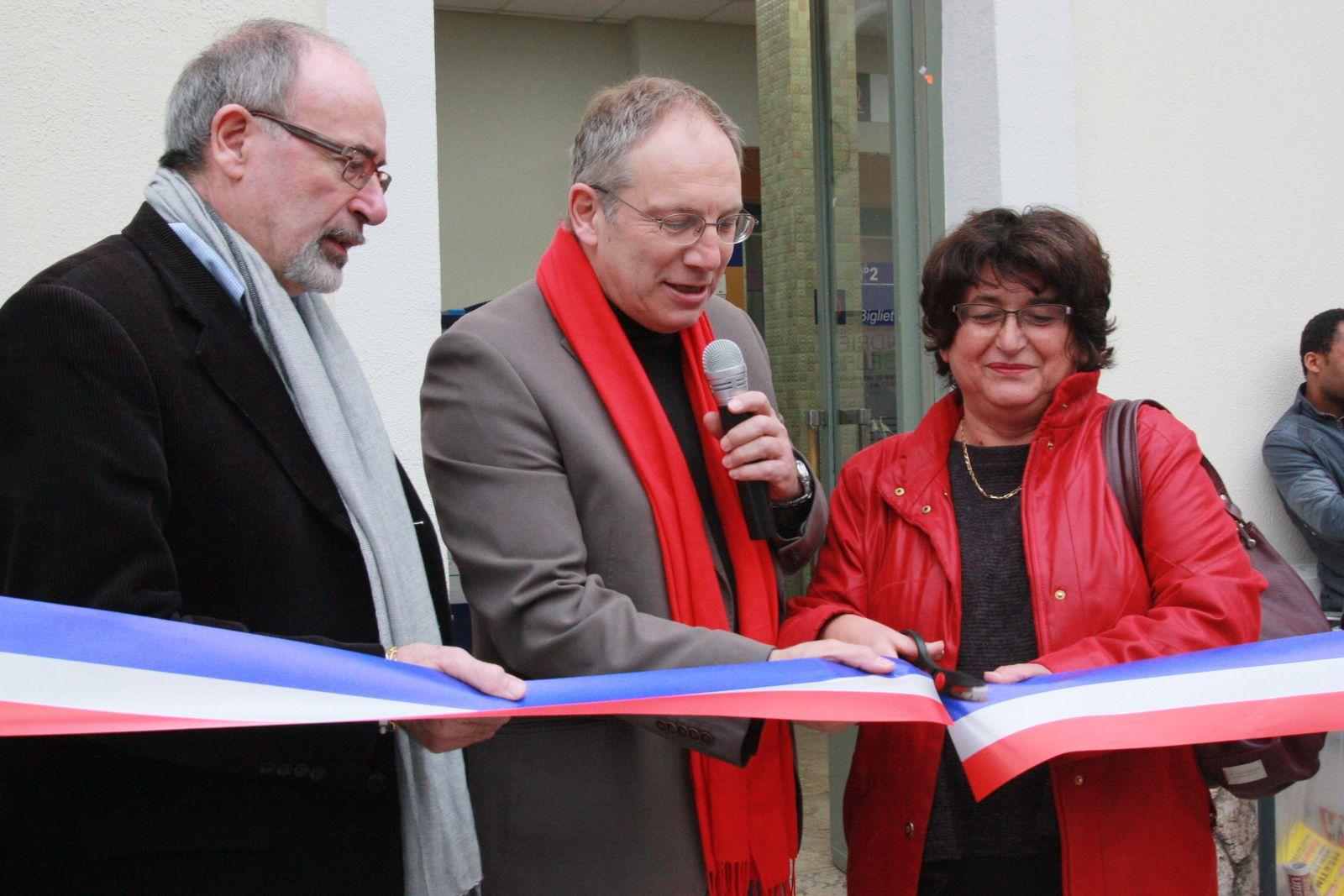 Inaugurations:  pour une vallée verte et solidaire et réhabilitation de la gare de Riquier