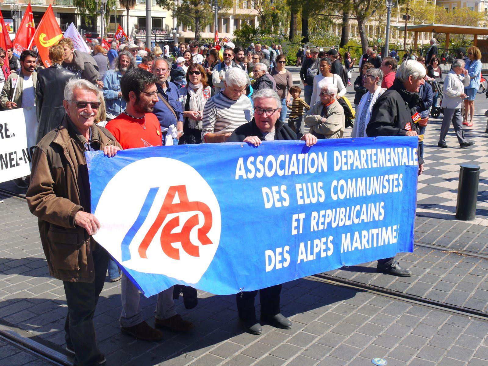 La manif du 1er mai à Nice en photos