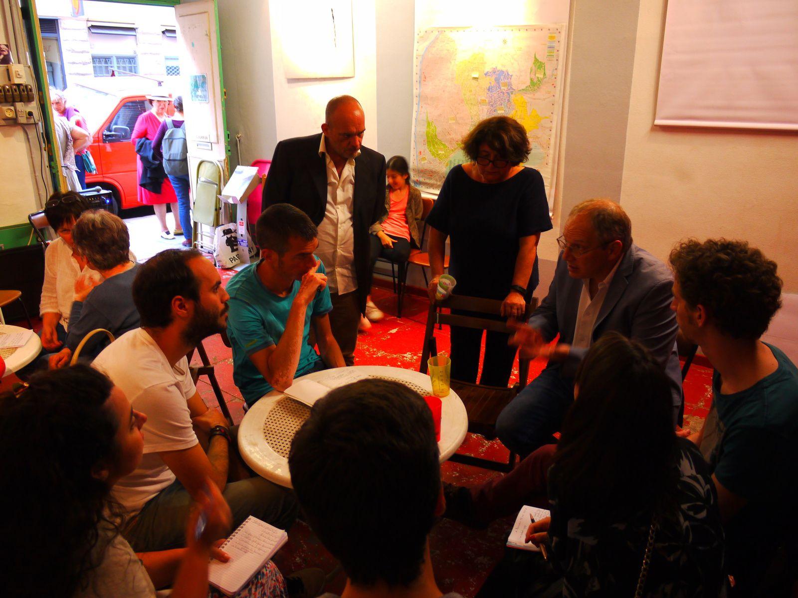Discussion avec le collectif Graphistes de la campagne