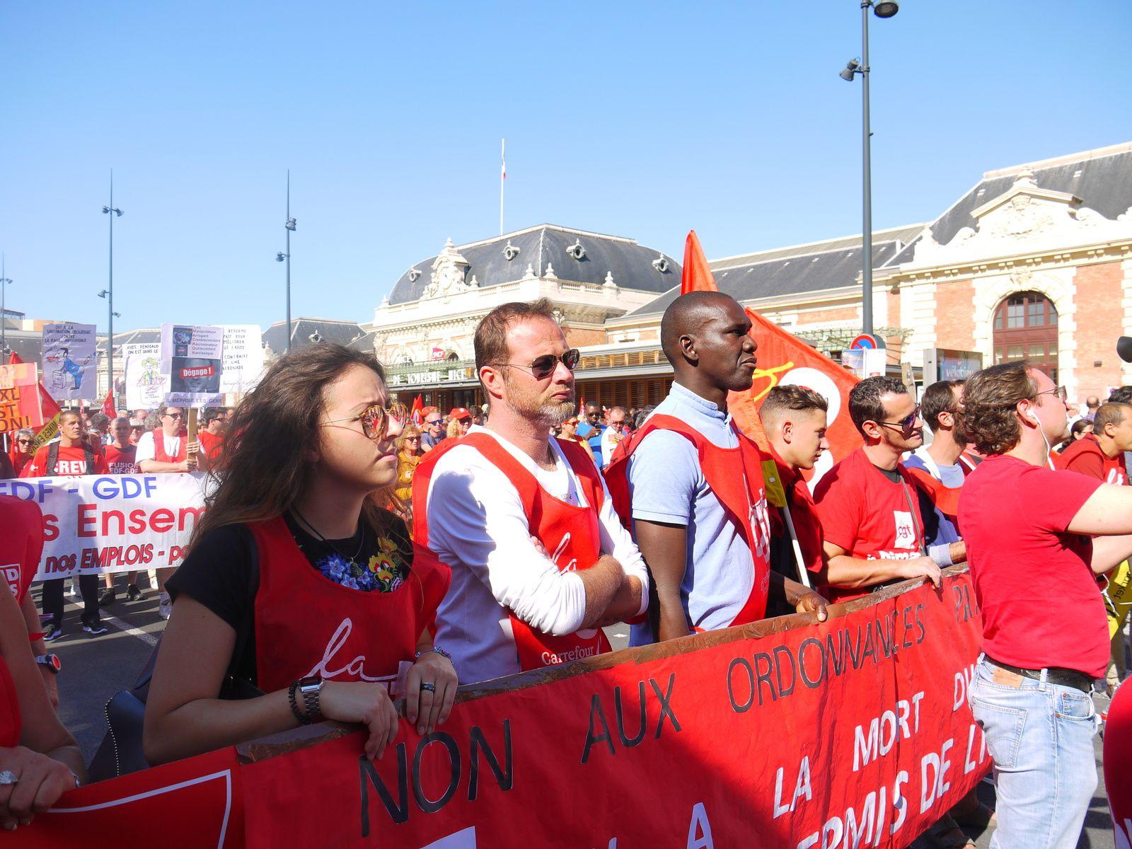 La manifestation du 12 septembre à Nice en images