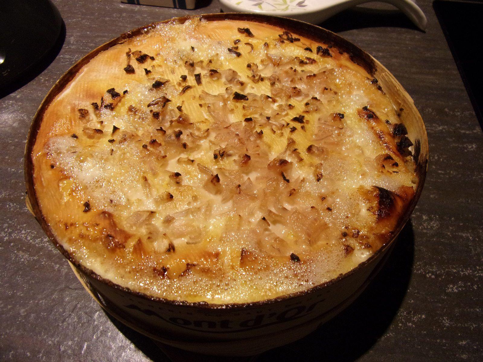fromage mont d or au four la p tite cuisine de sybille