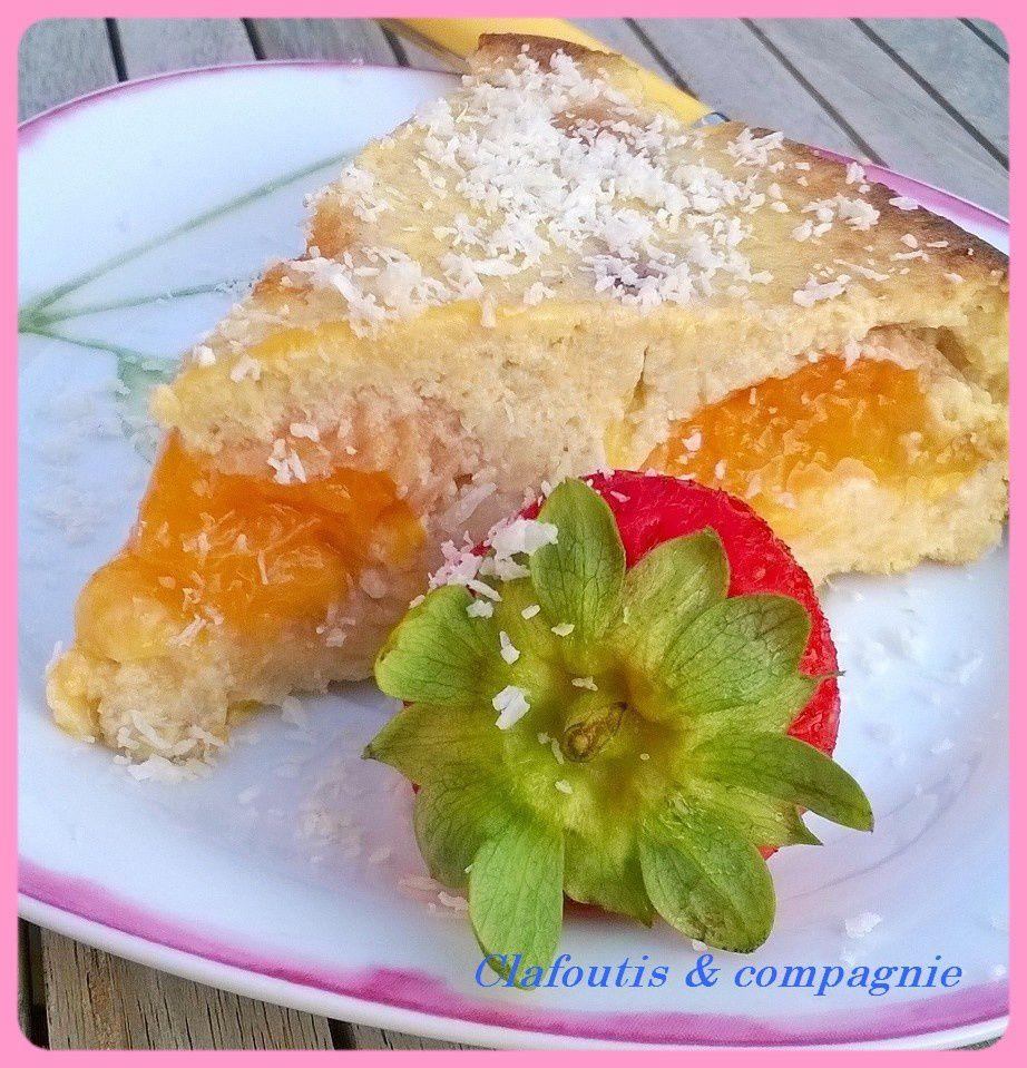 Gâteau à l'Avoine , Abricots &amp&#x3B; Nectarine