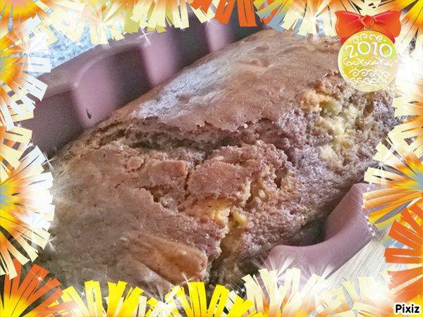 Cake Marbré à la Poire